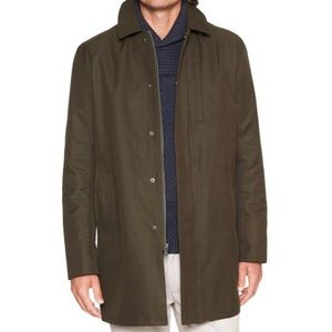 BANANA REPUBLIC FACTORY Full Zip Trench MAC Jacket